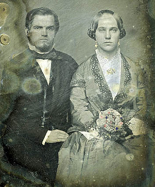 Christian and Mary Schlegel Miller, 15 March 1852